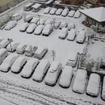 名古屋市内雪景色