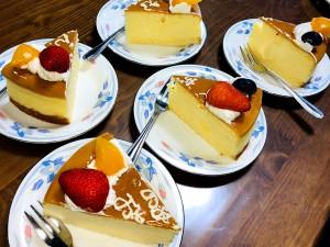 誕生日ケーキのリクエストはチーズケーキ